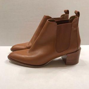 Everlane Heel Boot - Cognac